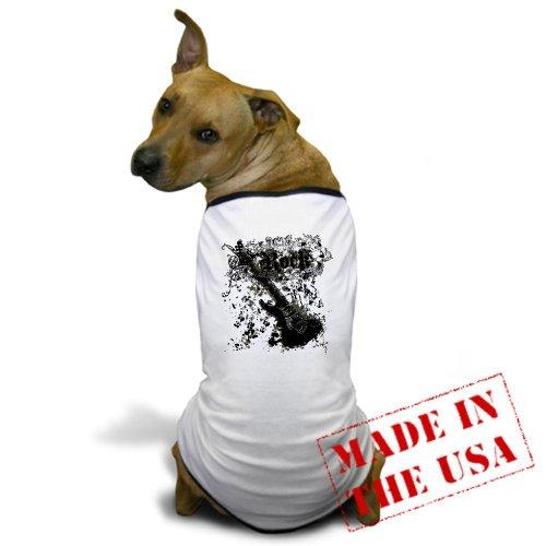 Artsmith, Inc. Dog T-Shirt Rock Guitar Music Grunge - Small
