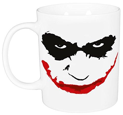 "'Batman 0122162Tazza ""Joker, porcellana, bianco, circa 320ml, 12x 7,5x 9,30cm"