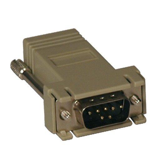 Modular Serial Adapter - Cisco RJ45 F to DB9 M - Straight