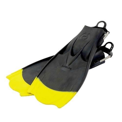 Hollis F-1 Geräteflossen F1 - gelb mit schwarzer Spitze