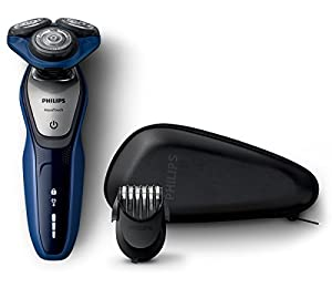 philips s5600 41 series 5000 aqua touch electric shaver with smart click beard trimmer amazon. Black Bedroom Furniture Sets. Home Design Ideas