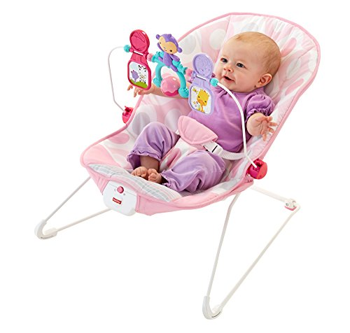 Fisher-Price Baby's Bouncer - Pink Ellipse (Fisher Price For Baby Girls compare prices)