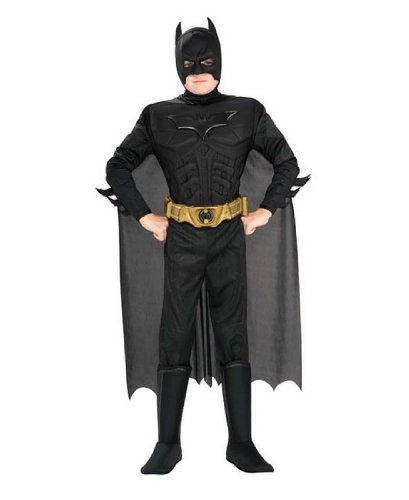 Deluxe Muscle Chest Batman Costume - Large