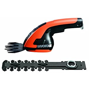 WORX WG800.1 3.6 Volt Lithium-Ion Cordless Grass Shear/Hedge Trimmer