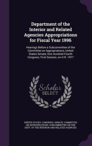 department-of-the-interior-and-related-agencies-appropriations-for-fiscal-year-1996-hearings-before-