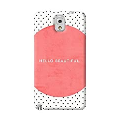 New Note3 Multi Color Pattern Phone Back Cover 69