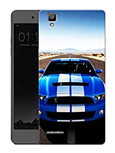 "Mustang Shelby LovePrinted Designer Mobile Back Cover For ""Oppo F1"" (3D, Matte, Premium Quality Snap On Case)"