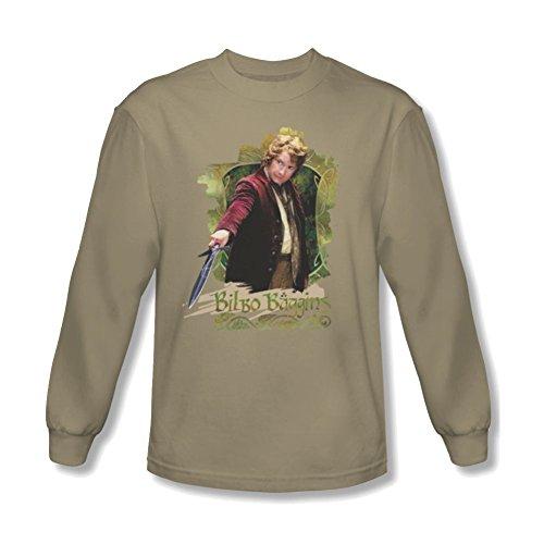 Long Sleeve: The Hobbit: An Unexpected Journey Bilbo Baggins Shirt HOB1002LS