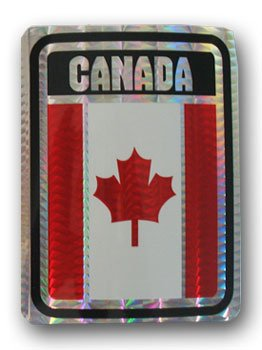 Canada - Reflective Decal