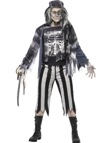 Pirate Ghost Fancy Dress Costume