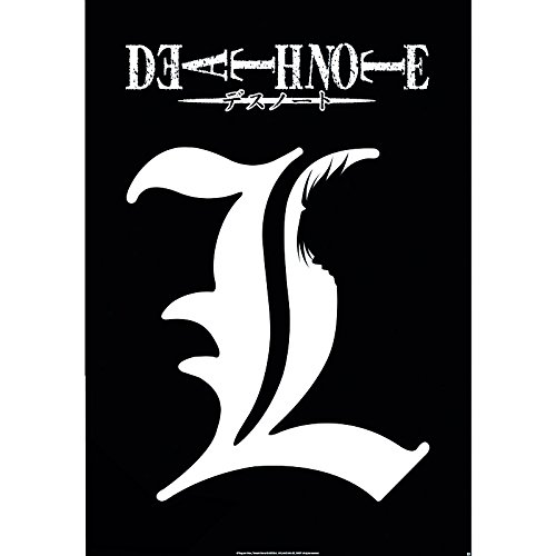 Abystyle - Poster - Death Note L Symbole 98X68Cm