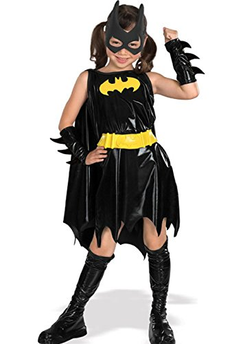 Kids Batgirl Superhero Fancy Dress Costume Small 3-4 years