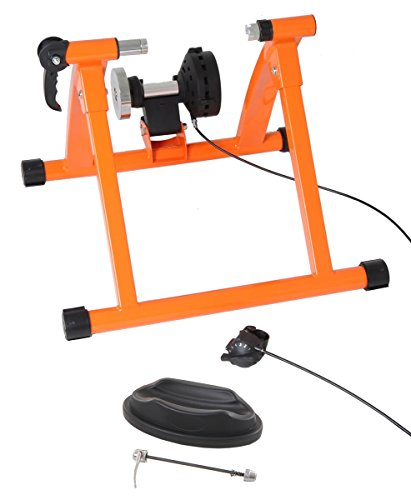 Conquer Pro Indoor Bicycle Trainer Exercise Machine - Variable Magnetic Resistance