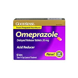 Medication omeprazole 20 mg