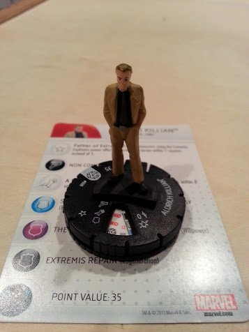 Marvel Heroclix Iron Man 3 Aldrich Killian gravity feed