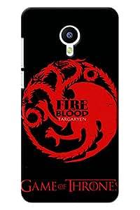IndiaRangDe Designer Mobile Back Cover for Meizu M2 Note