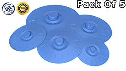 Silicone Suction Lids, A Perfect Match For Various Sizes Of Cups, Bowls, Pans, Containers, and Microwave Cover, Food Grade Silicone Lids