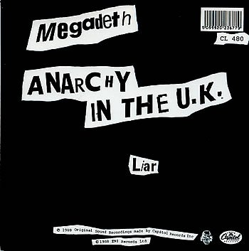 Anarchy in the UK by Megadeth