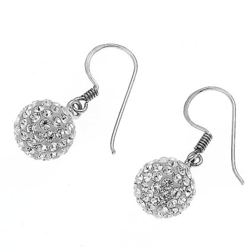 Oliver Weber Life Collection 7603 001 Ladies' Earrings 925 Sterling Silver Swarovski Crystal