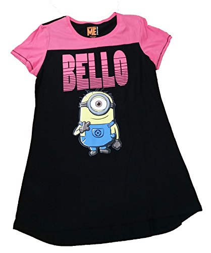 Despicable Me Minions Bello Nightgown Long Sleep Tee Shirt