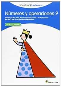 Cuadernos numeros y operaciones 9: Santillana: 9788468012353: Amazon