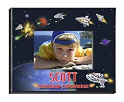 Personalized Boy\'s Space Picture Frame