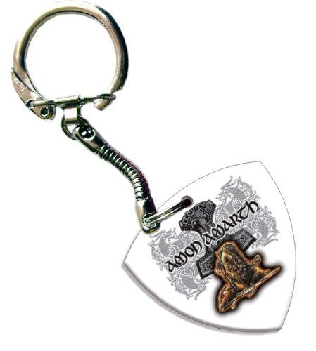 Amon Amarth Bass Pick Portachiavi Keychain Band Plettro Plettri