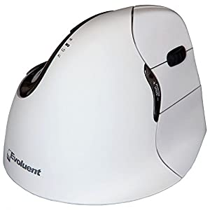 Evoluent Right Handed Vertical Mouse 4 for MAC  :White