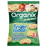 Organix Finger Foods Organic Apple Rice Cakes Stage 2 From 7+ Mths 50G