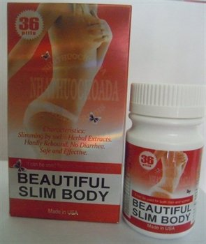 Beautiful Slim Body Original NHATHUOCHOADA- 36 Soft Gel ~ Made in USA