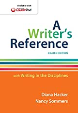 A Writer's Reference with Writing  in the Disciplines, Eighth Edition