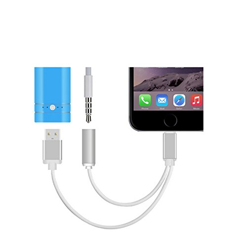Lightning-Adapter-USB-35-mm-AUX-Kopfhrer-Ladekabel-Kabel-IPhone-7-NEU
