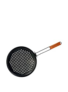 Charcoal Companion Non-Stick 12.75-inch Pizza Grilling Pan