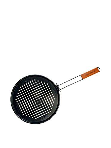 Charcoal Companion CC3060 Non-Stick Pizza Grilling Pan