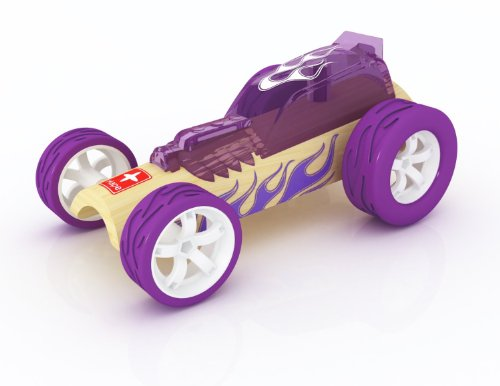 Hape Bamboo Mighty Mini Hot Rod Toy Car