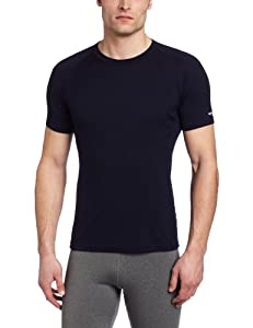 Icebreaker Men's Contour Short Sleeve Crewe Top, Admiral, XX-Large