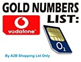Gold Number for your Business (Pay As You Go Simcards) Vodafone O2 Orange Tmobile 3 Network 3G Networks Sim