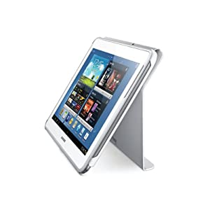 Samsung Electronics Book Cover for Galaxy Note 10.1-Inch, White  (EFC-1G2NWECXAR)