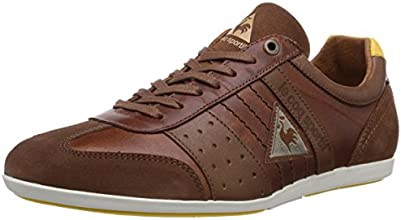 Le Coq Sportif Taco Low, Baskets mode homme - Marron (Tortoise Shell), 45 EU