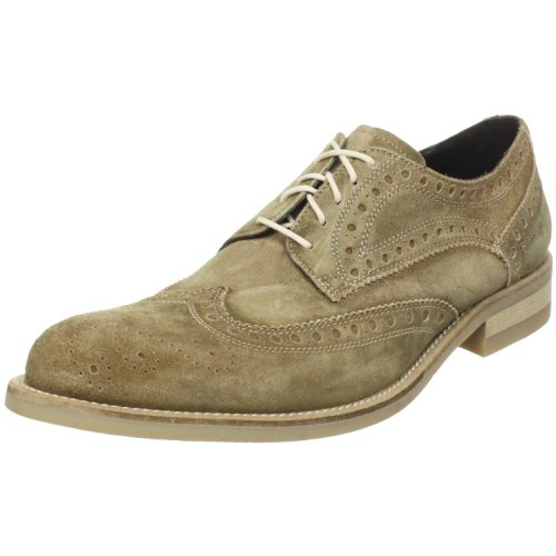Donald J Pliner Men's Emerik Wingtip Oxford,Khaki,8 M US