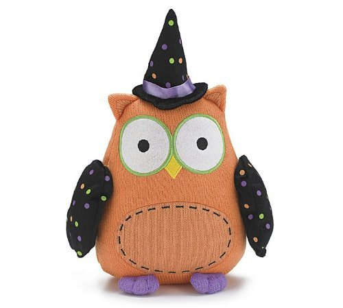 "Whooo Goes There Plush 12"" Halloween Owl - 1"