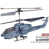 SYMA S108G Radio Controlled Infrared Mini 3CH Marine Cobra RTF Helicopter with Gyro by SYMA