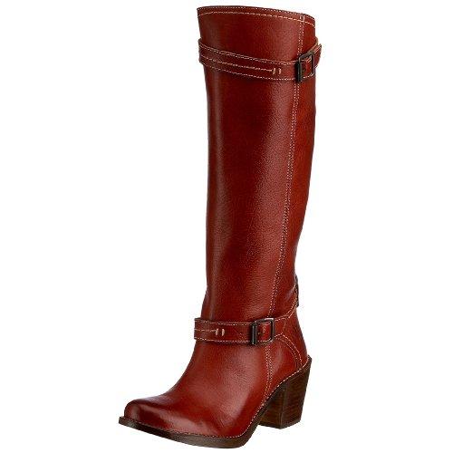 Frye Women's Carmen inside zip PFG Boot Brick 77380BCK6 4 UK D