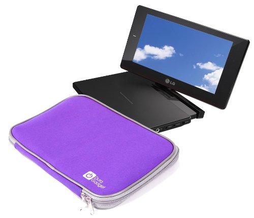 Housse légère pour Lecteurs DVD Portables LG DP581B, DP561 - étui / Sac