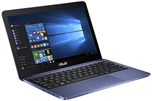 Asus EeeBook X205TA-FD0061TS Portatile, Display da LCD 11.6 pollici HD, Processore Intel Atom T Z3735F Quad Core, RAM 2 GB, 32 GB SSD, Blu