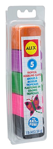 ALEX Toys Artist Studio Modeling Clay in Tropical Colors