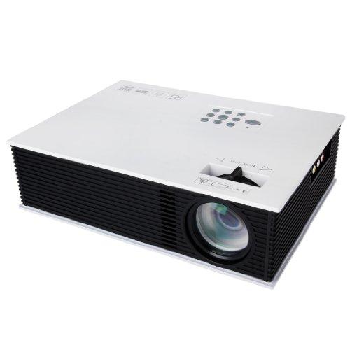 Floureon® New Hd Home Led Video Projector Av Hdmi Vga Usb Tv Ip Protector 800*600