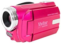 "Vivitar Dvr508 High Definition Digital Video Camcorder with 1.8"" LCD Screen with 4x Digital Zoom (Pink) from Vivitar"