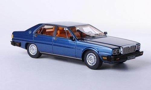 Maserati Quattroporte III , metallic-blue, 1978, Model Car, Ready-made, Neo 1:43 (Maserati Model compare prices)