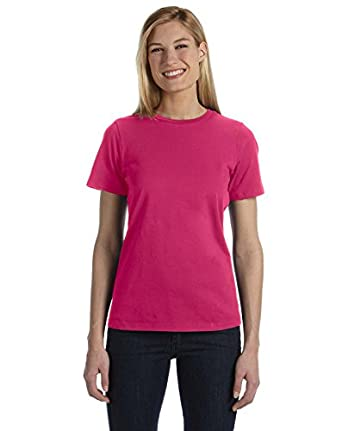 Bella B6400 Ladies 4.2 oz. Missy Fit Crew Neck Jersey - BERRY - Small